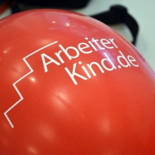 Luftballon mit dem Logo von ArbeiterKind.de (Foto: ArbeiterKind.de)