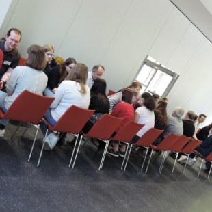 Regionaltreffen NRW in Essen: Wir lernen uns kennen. (Foto: ArbeiterKind.de)