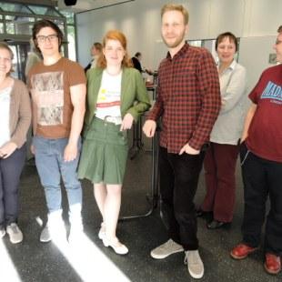 Regionaltreffen NRW in Essen: kleines Gruppenfoto (Foto: ArbeiterKind.de)