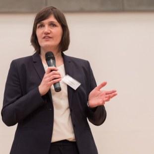 EAN 2017: Gastgeberin der 26. Jahreskonferenz Katja Urbatsch (Foto: Rolf K. Wegst)