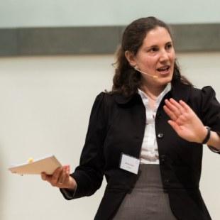 EAN 2017: Moderatorin Barbara Bosch (Foto: Rolf K. Wegst)