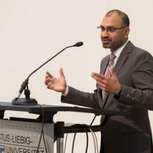 EAN 2017: Universitätspräsident Prof. Dr. Joybrato Mukherjee (Foto: Rolf K. Wegst)