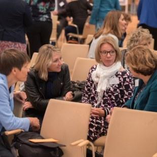 EAN 2017: Gesprächsrunde in der Aula (Foto: Rolf K. Wegst)
