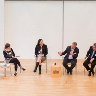EAN 2017: Diskussionrunde auf der Bühne (Foto: Rolf K. Wegst)