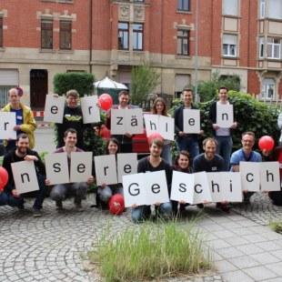 Regionaltreffen Baden-Württemberg in Karlsruhe: Gruppenfoto (Foto: ArbeiterKind.de)