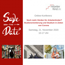 Safe the Date: 21. November von 10 bis 17 Uhr