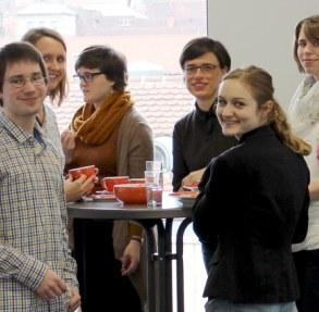 Kaffeepause bei einem unserer Berufseinstiegsworkshops Foto: ArbeiterKind.de