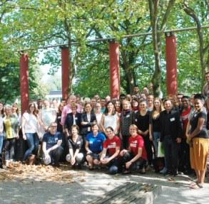 Gruppenbild vom vergangenen Berufseinstiegtags in Duisburg-Essen