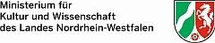 Logo des Ministeriums für Kultur und Wissenschaft des Landes Nordrhein-Westfalens mit dem Link auf die Darstellung des Förderers